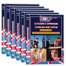 ENGLISH BRITISH BEGINNER FOR FOREIGNER Complete Method only 6 DVD